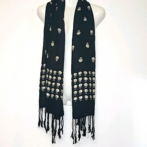 Parsley and Sage sequined skull scarf